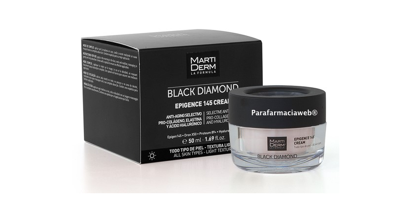 Martiderm Black Diamond Epigence 145 crema dia y Martiderm Black Diamond Epigence 145 sleeping crema de noche 50ml