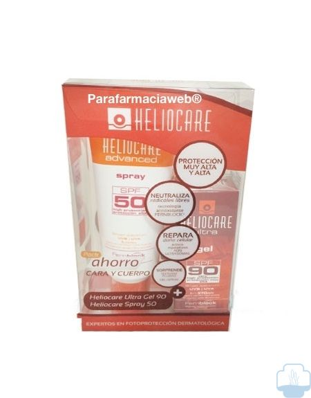 Heliocare gel 90 50ml + heliocare spray 200ml