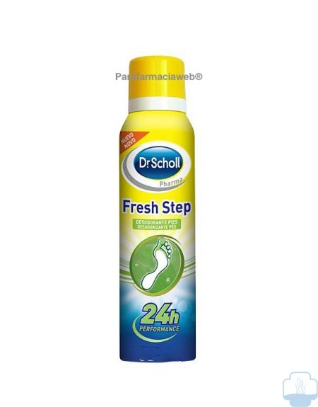 Dr scholl desodorante pies fresh step extra fresco 150ml