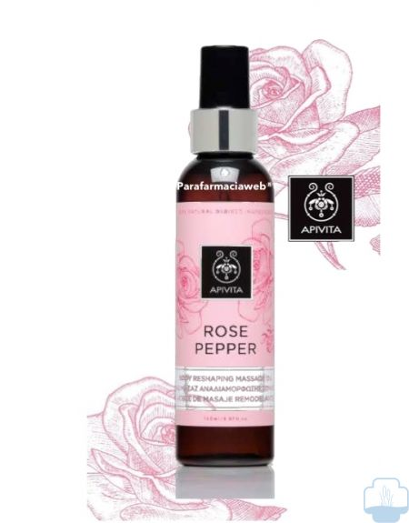Apivita rose pepper aceite anticelulitico 150ml