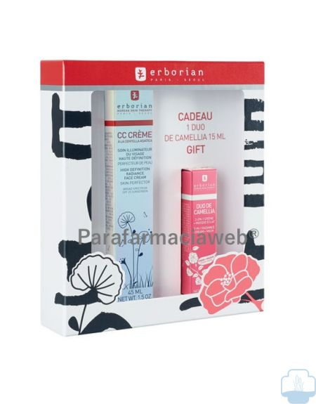 Erborian cc crema 45 ml + erborian pink perfect 15ml