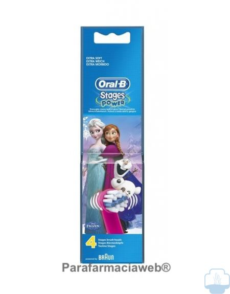 Oral-b recambios cepillo electrico stages power princesas frozen
