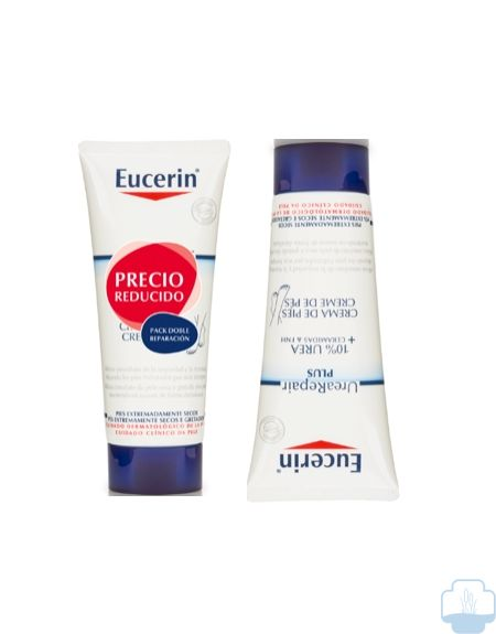 Eucerin urea repair crema pies duplo 2x100ml
