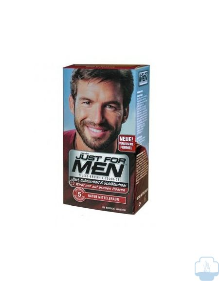 Just for men castaño claro dorado