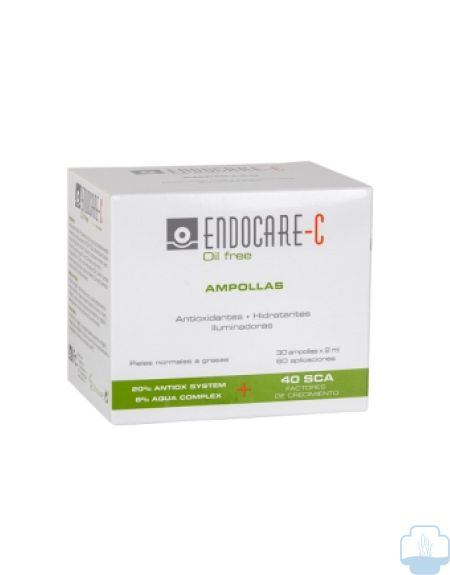 Endocare proteoglicanos 1 second c20 oil free 30 ampollas