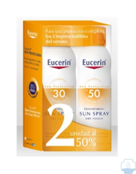 Eucerin spray solar transparente dry touch spf 50 200ml