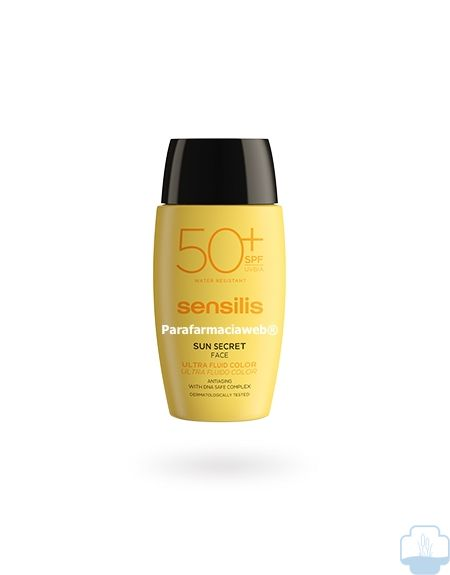 Sensilis sun secret ultra fluido facial color spf50 40ml