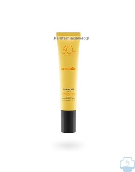 Sensilis sun secret crema solar ultraligera facial spf30 40ml