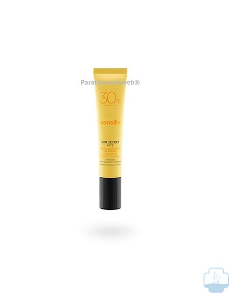 Sensilis sun secret contorno de ojos spf30 15ml