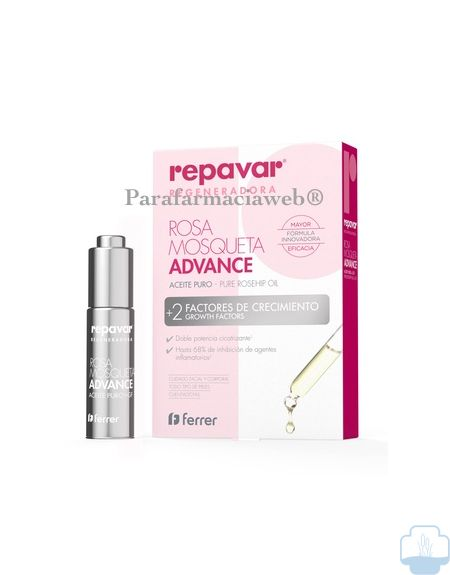 Repavar aceite puro rosa de mosqueta advanced 15ml