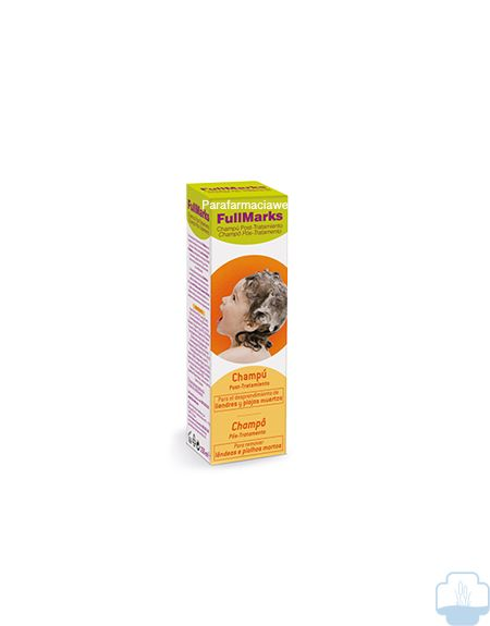 Fullmarks champu post tratamiento antipiojos 150ml