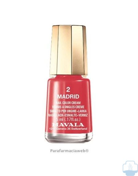 Mavala esmalte de uñas color 02 madrid 5ml
