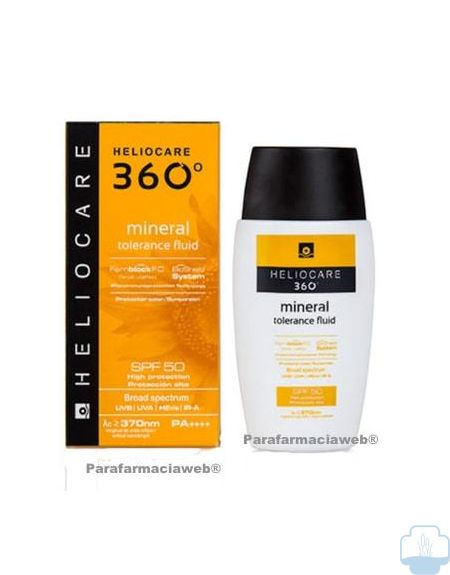 Heliocare 360 mineral tolerance fluido spf 50 50ml