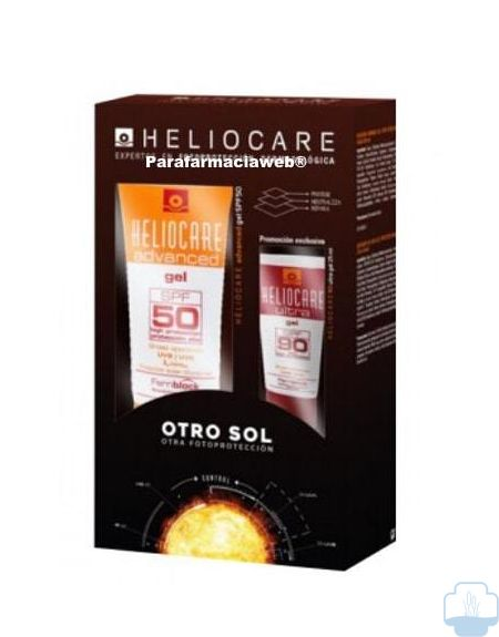 Heliocare advanced gel spf 50 200ml + regalo heliocare gel 90 25ml