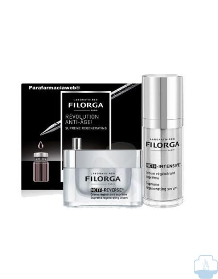 Filorga  nctf intensive kit serum regenerador antiedad 30ml y crema 15ml