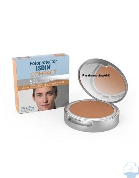 Isdin fotoprotector compacto spf 50 bronce