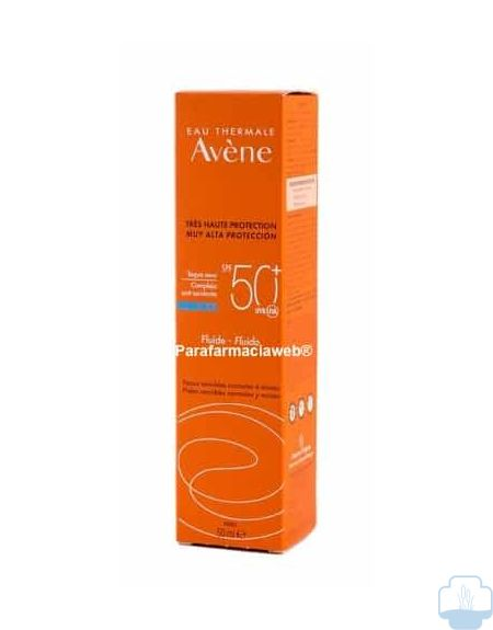 Avene solar emulsion rostro oil free spf 50 50ml