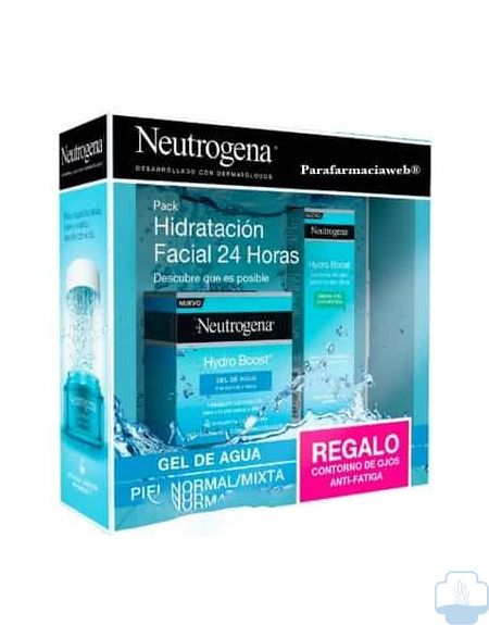Neutrogena pack hydro boost gel de agua 50 ml + regalo contorno ojos 15 ml