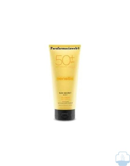 Sensilis sun secret gel crema corporal spf50 200 ml