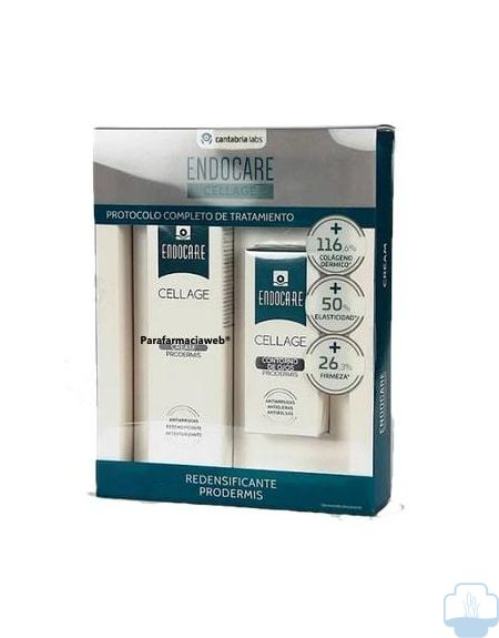 Endocare cellage crema 50ml + contorno de ojos 15ml pack