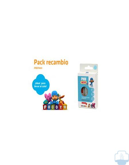 PHB Petit Gel Dentifrico Recambios, 3x15ml