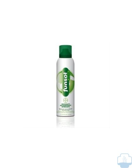 Funsol spray desdorante pies 150 ml