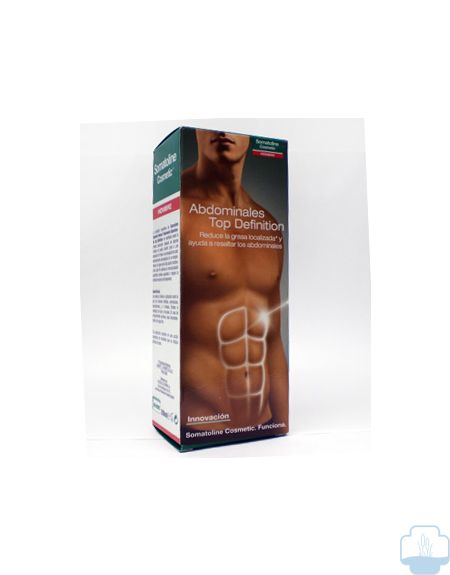 Somatoline hombre top definition abdominales 200 ml