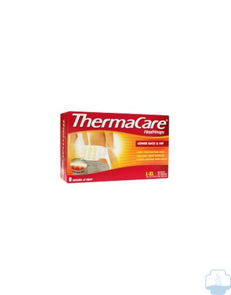 thermacare lumbar cadera parches terapeuticos