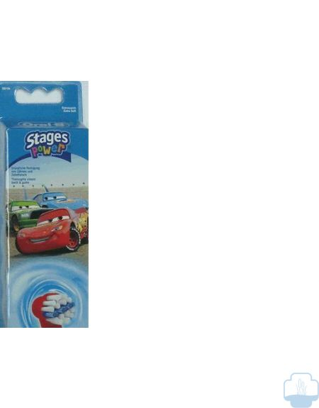 Oral-b recambios cepillo electrico stages power disney cars