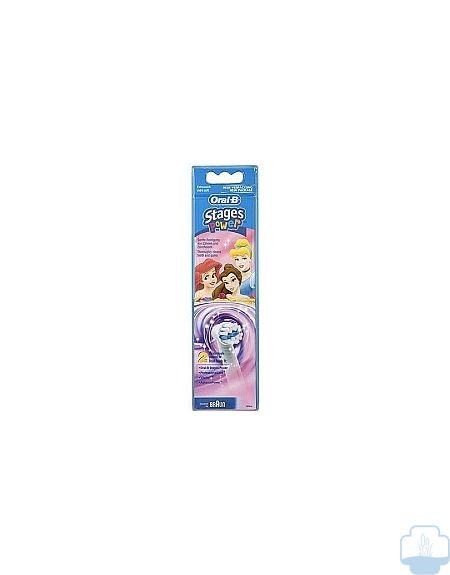 Oral-b recambios cepillo electrico stages power disney princesas