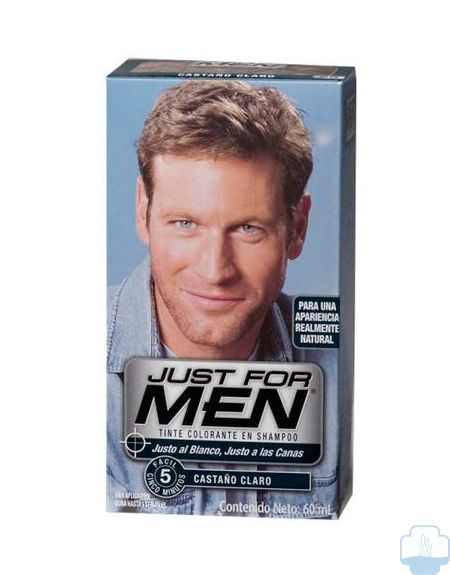 Just for men castaño claro natural