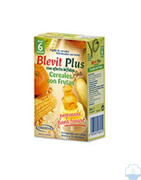 Blevit Plus Cereales/Fruta, 250ml