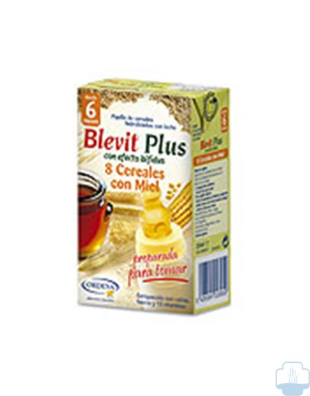Blevit Plus 8 Cereales y Miel, 250ml