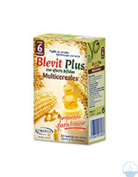 Blevit Plus Multicereales Preparado ,250ml