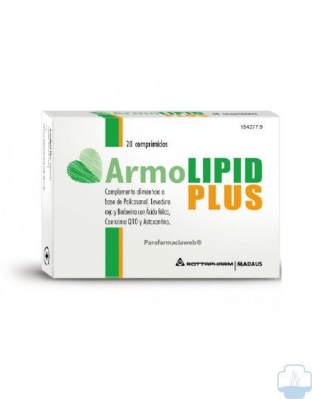 Armolipid plus comprimidos