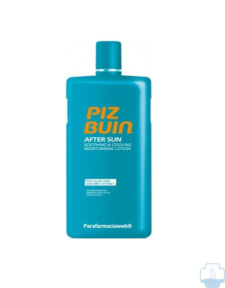 Piz buin after sun locion hidratante calmante 400 ml