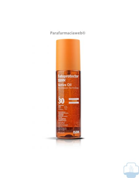 Isdin fotoprotector active oil spf 30
