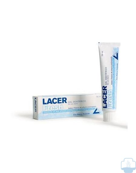 Lacer fresh gel dentífrico  75ml