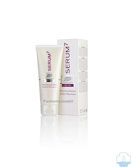Serum7 exfoliante facial restaurador