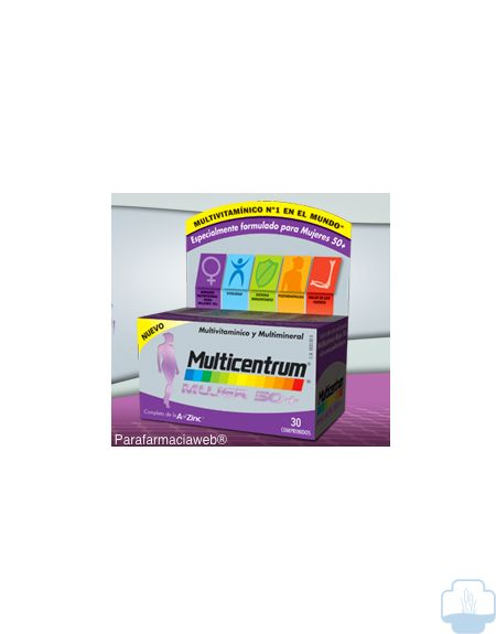 Multicentrum mujer select 50+