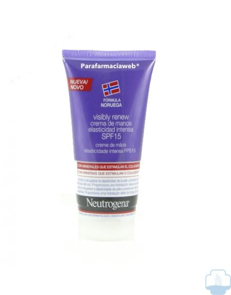 Neutrogena visibly renew crema manos