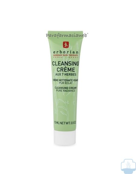 Erborian cleansing creme 7 hierbas 15 ml