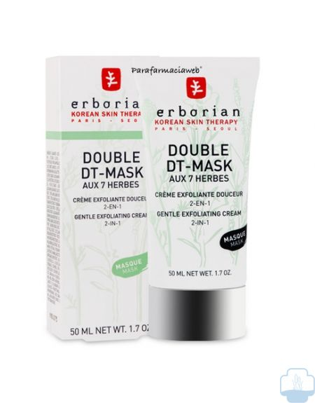 Erborian double dt mask exfoliante 50 ml
