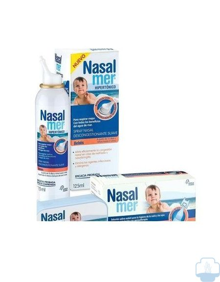 Nasalmer spray nasal bebe suave 125 ml