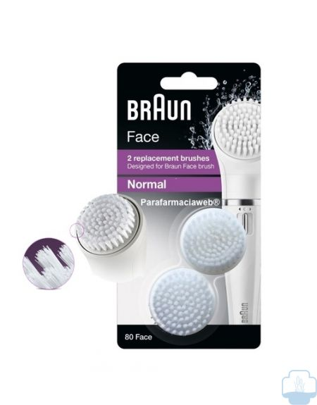 Braun  face cepillos recambio normal