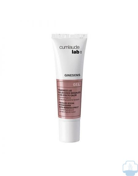 Cumlaude ginesens gel efecto calor 30 ml