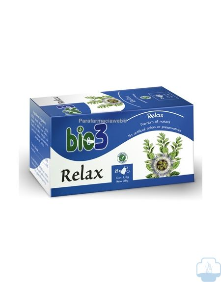 Bie3 infusion relax 25 bolsitas
