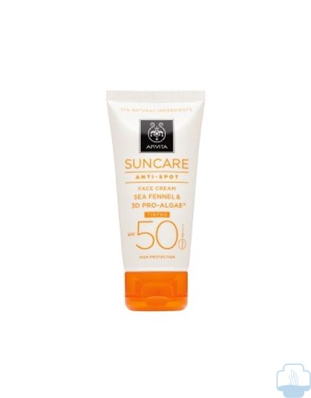 Apivita suncare protector solar antimanchas color spf 50 50ml