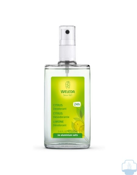 Weleda desodorante citrus spray 100ml