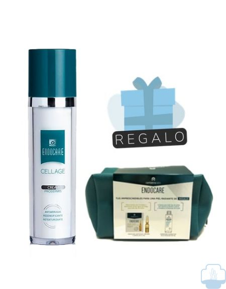 Endocare Cellage Crema antiedad 50ml + Neceser con regalos